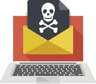 危険メールのイメージ画像化処理機能